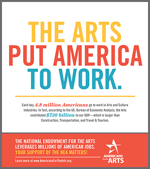 The Arts Put America To Work