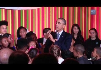Embedded thumbnail for President Obama Speaks on the Importance of the Arts