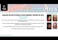 Embedded thumbnail for Engaging Military Veterans in Your Community through the Arts